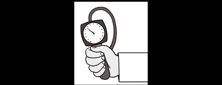 Blutdruckmessgerät für den Menschen